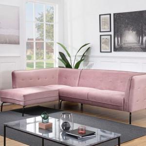 Coltar Atlantic Home Affaire, 270 x 80 x 80 cm, catifea, roz
