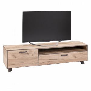 Comoda Tv Austin PAL/plastic, maro, 159 x 40 x 37 cm