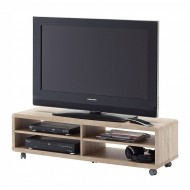 Comoda TV Jeffrey II ,decor stejar