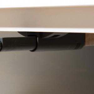 Comodă TV Pedro cu uși din lemn de pin, 120 x 48 x 40 cm