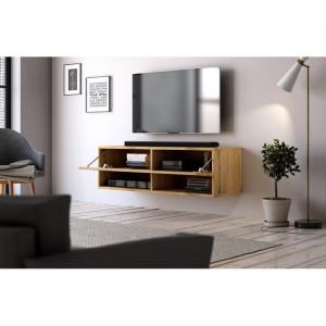Comoda TV Wescott, decor stejar, 100 x 30 x 31 cm