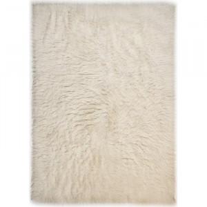 Covor Ardal, lana, crem, 90 x 160 cm