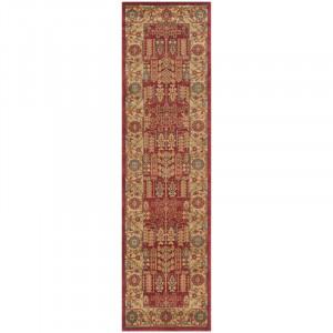 Covor Beauregard roșu / natural, 62 x 240 cm