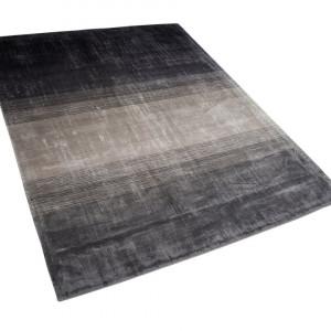 Covor Ercis, negru/gri, 160 x 230 cm