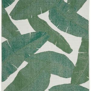 Covor Jungle interior-exterior, alb/gri, 200 x 290 cm