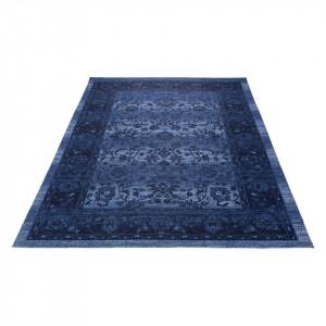 Covor Patina albastru 80 x 150 cm