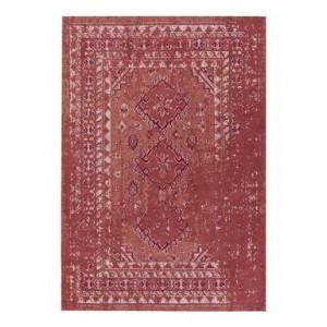 Covor Rebel, rosu ruginiu/crem, 160x230 cm