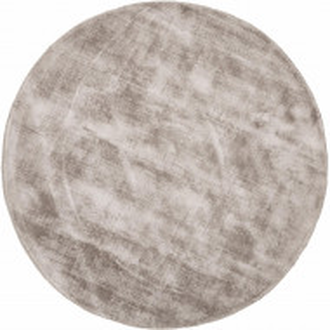 Covor rotund din viscoză țesută manual Jane, diametru 120 cm