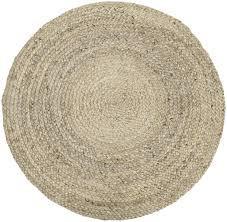 Covor Sharmila din iuta, d. 140 cm