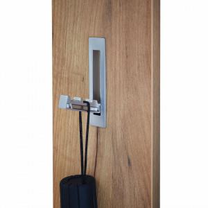 Cuier Colorado MDF/aluminiu, maro, 15 x 170 x 4 cm