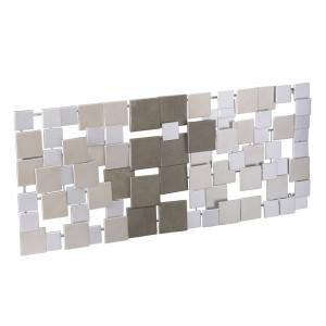 Decor de perete, metal, 53,98 x 119,38 cm