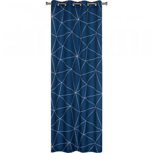 Draperie Alayja, albastra, 140 x 250 cm