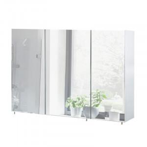 Dulap cu oglindă Mccaughey, alb, 71cm H x 60cm W x 16cm D