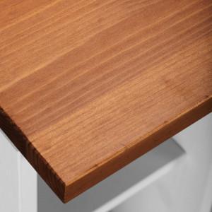 Dulap Oslo Toscana pentru cuptor, lemn masiv pin, 100cm latime