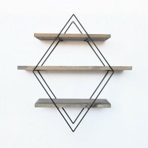 Etajera Yazmin, lemn, 62 x 42 x 15 cm