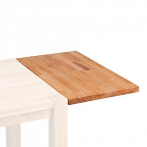 Extensie masa Richwood din lemn masiv de fag, maro, 90 x 4 x 50 cm