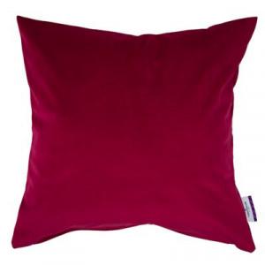 Față de pernă French Velvet, roșu, 40 x 40 x 0,1 cm