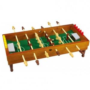 Fotbal de masa Karll, 35,5 x 35 cm maro