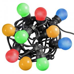 Instalatie Festoon cu 10 lumini multicolore