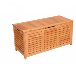 Lada pentru depozitare, lemn masiv, 62 x 123 x 54 cm