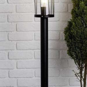 Lampa de exterior Reed III, metal/plastic, negru, 13,3 x 80,5 cm, 60w