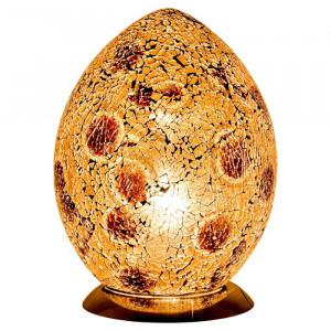 Lampa in forma de ou, 30 x 22 x 22 cm