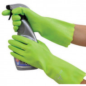 Manusi Pura PVC marimea 8/M, verde deschis