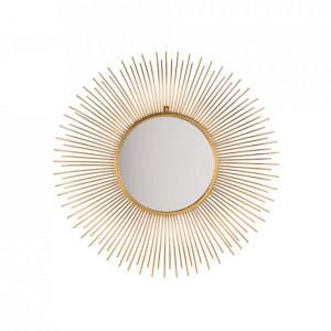 Oglindă Cilly, auriu, d. 80 cm