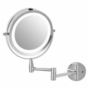 Oglindă cosmetică cu LED, 29 x 18 x 31 cm