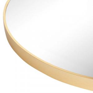 Oglinda Gold Metal Accent, 60 x 60 cm