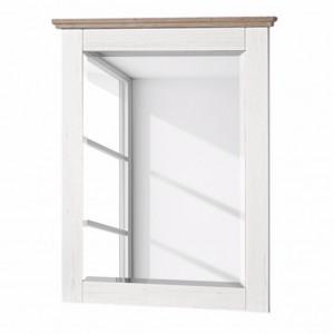Oglinda Liaras II decor pin alb