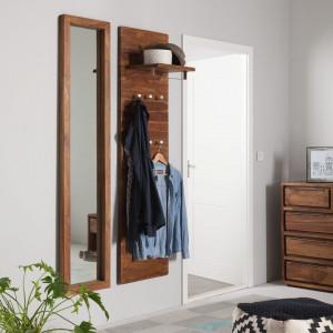 Oglinda Trangle - lemn de sheesham