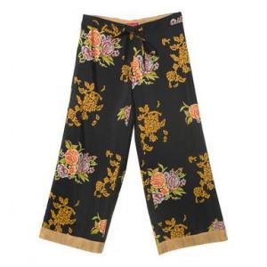 Pantaloni Cabana nero, Marimea XL by Lisa Corti