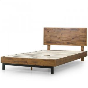 Pat Gabriel, lemn masiv de pin, maro