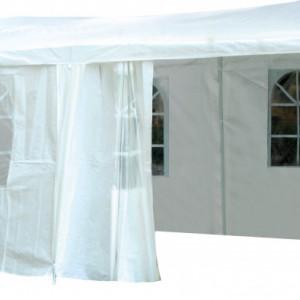 Pavilion Karll cu pereti laterali poliester, 3 x 6 x 2.5 m