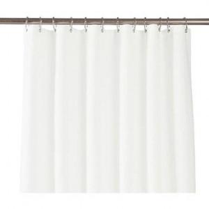 Perdea de duș Tora, alb, 180x200 cm