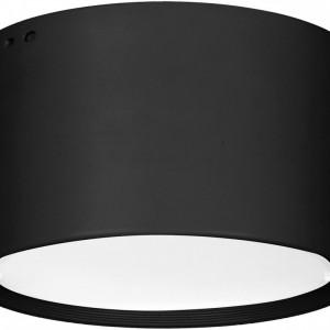 Plafonieră Downlight din metal, negru, 15 x 9cm