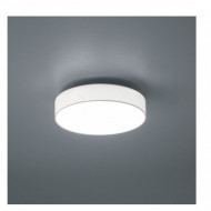 Plafoniera LED Lugano I metal/tesatura, 1 bec, alb, diametru 30 cm, 230 V