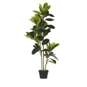 Planta artificiala FICUS, material sintetic, verde, 134 x 18 cm