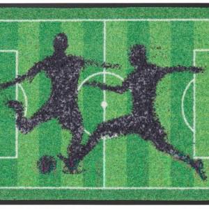 Pres de intrare Fotbal by my home, 50 x 75 cm, verde