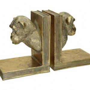 Set 2 opritoare pentru cărți Monkeys, 18x10x30cm