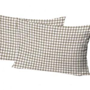 Set de 2 fețe de perne Power Linen, 50x80 cm