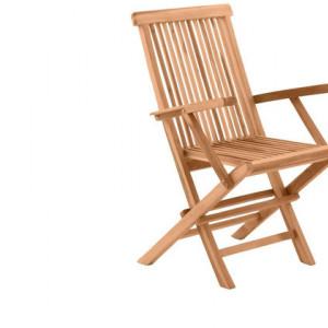 Set de 2 scaune de gradina Mahesh, 89 x 51 x 55 cm