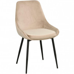Set de 2 scaune Sierra bej, 85 x 49 cm
