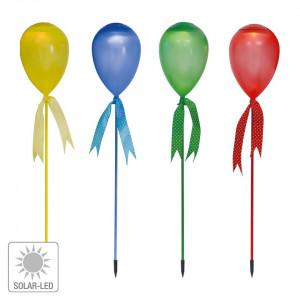Set de 4 lampi solare LED Ballon