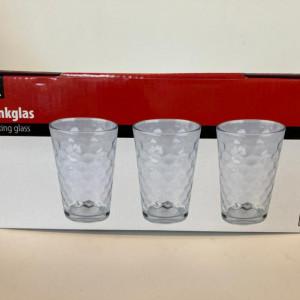 Srt de 3 pahare pentru apa
