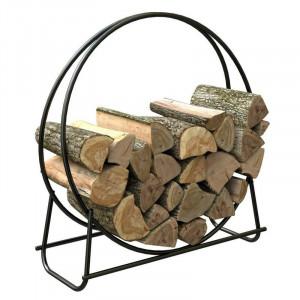 Stand pentru lemne, metal, 101 x 107 cm