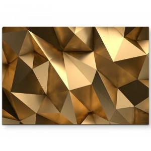 Tablou 3D, auriu, 80 x 120 cm