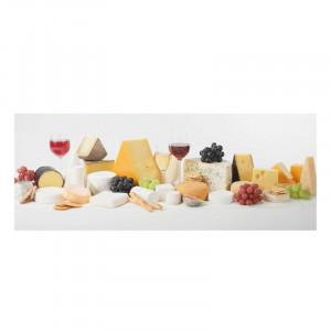 Tablou 'Cheese Variations', multicolor, 40 x 100 cm