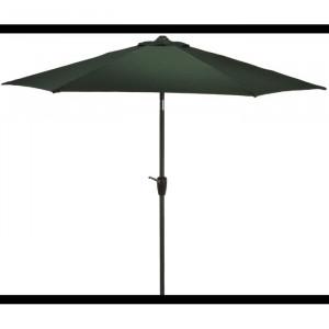 Umbrela de terasa Traditional, verde 2.43 x 2.5 x 2.5 m
